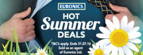 Euronics Hot Summer Deals on Appliances