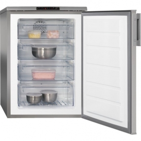 AEG ATB8101VNX Freestanding Under Counter Frost Free Freezer Stainless Steel - 0
