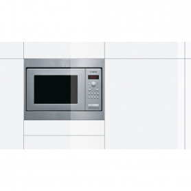Bosch HMT75M551B Series 4 Built In Compact Microwave Oven Brushed Steel - 1