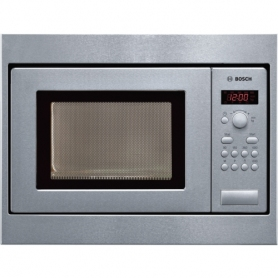Bosch HMT75M551B Series 4 Built In Compact Microwave Oven Brushed Steel