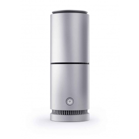 VBreathe Tasman Smart Air Purifier & All Natural Detoxifier - Silver