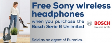 Bosch - Free Sony Headphones