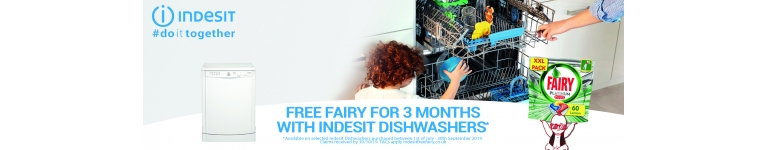 Indesit 3 month Free fairy